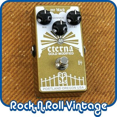 Mr. Black Eterna Gold Modified Pitch Shifting Reverb Pedal