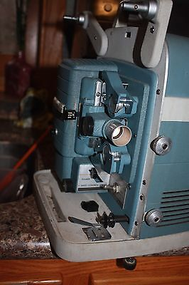 Vintage WORKING Bell & Howell 363 Super Auto Load 8mm Movie Film Projector