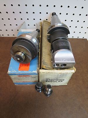 """CRITERION DBL-202 BORING HEAD holds 1/2"""" - with Parlec Cat 40  & BT40 Holder"""