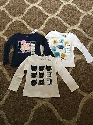 Girls Old Navy Shirt Lot 12-18 Months Nwt