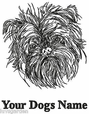 Affenpinscher Personalized Embroidered  Dog Breed T-shirt / Youth to Adult XL