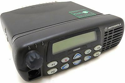 Motorola Gm660 25 Watt Uhf Mobile Taxi Vehicle Or Base Radio Free Programming