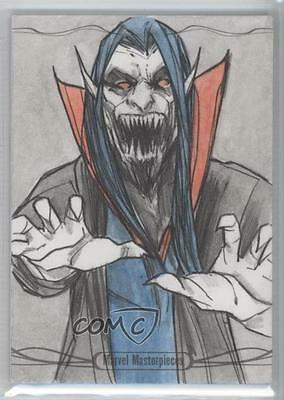 2016 Upper Deck Marvel Masterpieces Legacy Sketch Cards FEZUE Andre Toma 1/1 o8i