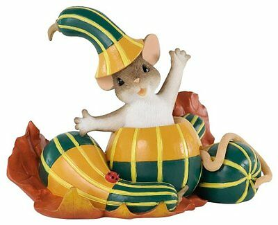 ENESCO Charming Tails Halloween Out of My Gourd for You Figurine FREE SHIPPING
