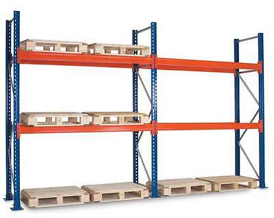 Warehouse Teardrop Style Pallet Racking Industrial Heavy Duty Storage Systems