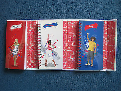 High School Musical Wildcats Diary, Address Book, Notes Folder - GC