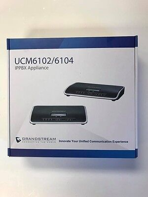 NEW UCM6102 IP-PBX GrandStream with 2 FXO for 30 Simultaneous Calls