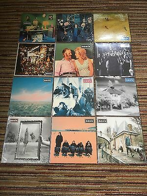 "Oasis Creation Records Uk Full 12"" Collection 1st Press Ex+NM Unplayed"