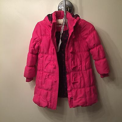 Pink Padded Winter Coat John Lewis Age 6