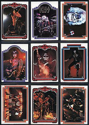 Kiss Cards Complete Set 1978 Donruss Series 1 Trading Cards Near Mint !!!