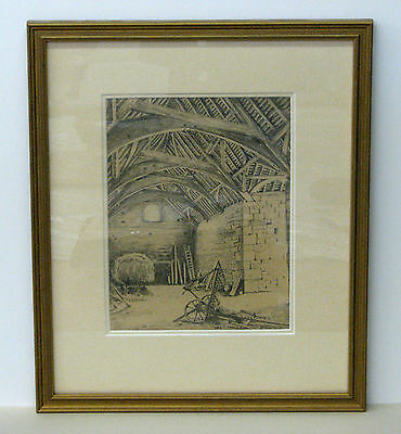 Framed Original Drawing (1949) by A.P.Scarland