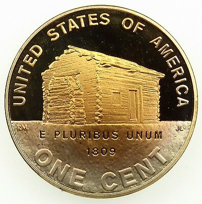 2009 S Deep Cameo Proof Lincoln Birth and Childhood Cent Penny Toned (B04)