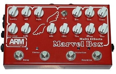 Marvel Box Multi Effect By Arm Analog Unit And More! Di Out/cab Sim Self Power