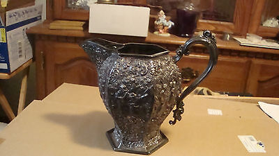 Antique Silver Plate HOLLAND Pitcher