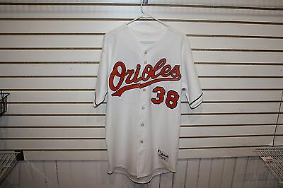 Game Used Baltimore Orioles Tim Raines 2000 Jersey