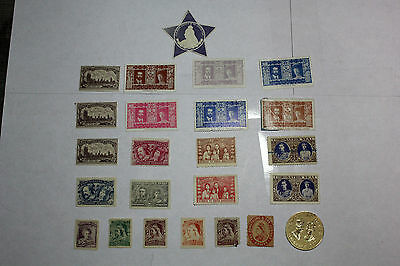 Lot of 24 Great Britain non Postal Postage Stamps Coronation Collect   GREA022