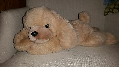 RUSS Doozer Plush Dog Vintage TAN golden Retriever Stuffed Animal