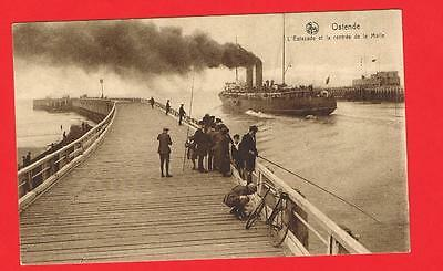 Steam Ship Arriving?, Ostende Free P&P to UK (ref L86)