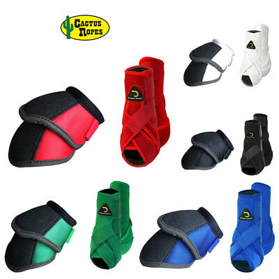 Cactus Dynamic Edge Horse Front Leg Sport Bell Boots Pair Combo All Colors