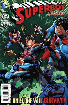 Superboy (Nov 2011 series) #34 in Near Mint + condition. FREE bag/board