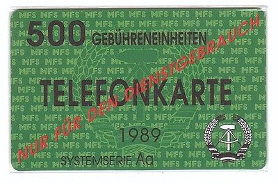 DDR - The Famous (Fake) Phonecard From DDR / ZKD