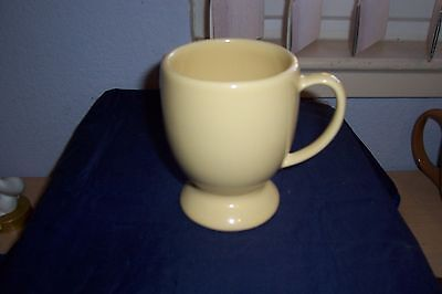 Southern Living At Home Hospitality Butter Yellow Pedestal Mug