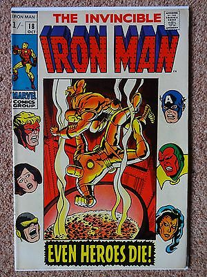 THE INVINCIBLE IRON MAN #18 October 1969