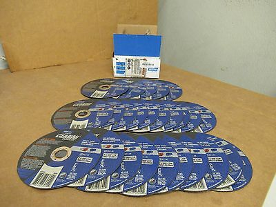 "Norton 5gc54 Gemini Cut Off Wheel steel stainless 6"" X .045"" X 7/8"" Lot of 25"