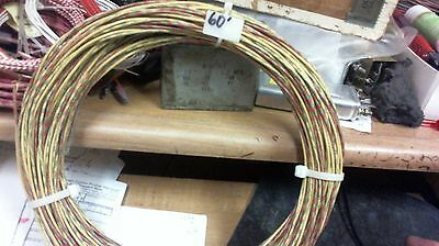 60 ft coil Western Electric CLOTH,silk 20g ENAMEL 3-wire