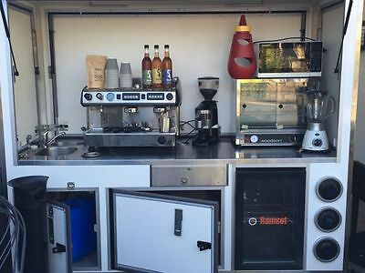 Coffee Cart.  Comes With Everything You Need To Start Up Your Own Business.