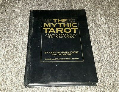 VINTAGE The Mythic Tarot Book Sharman-Burke & Greene 1986 No Cards very good