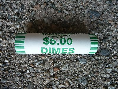 One roll of uncirculated 2009 d Roosevelt dimes