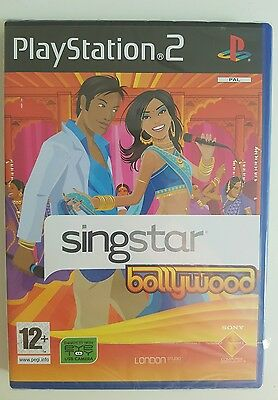 Singstar Bollywood PS2 Brand NEW SEALED in packet - Free Postage!