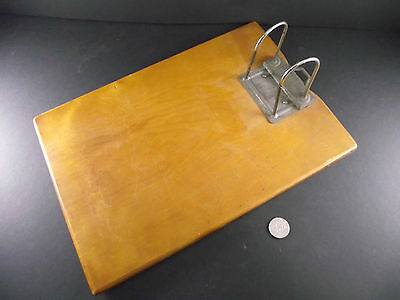 """Antique  Arch File Holder  """" Ottawa  Pat Applied For """"  Nice Patina"""