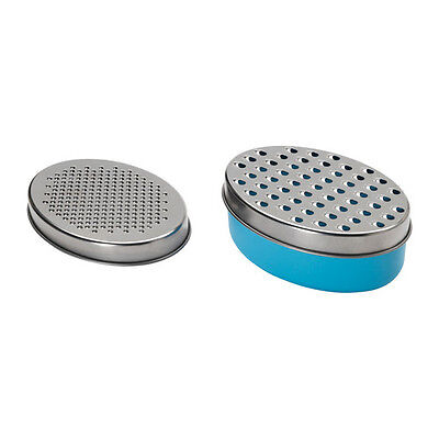 IKEA CHOSIGT Grater with container, blue