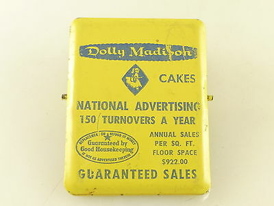 Vintage Dolly Madison Cakes National Advertising Salesman Sample Document Clip
