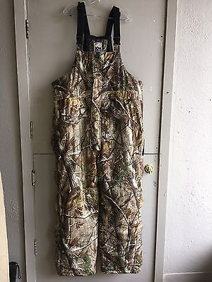 10X Hunting Camouflage Insulated OVERALLS 2 XL Tall 44-46 Waist Realtree