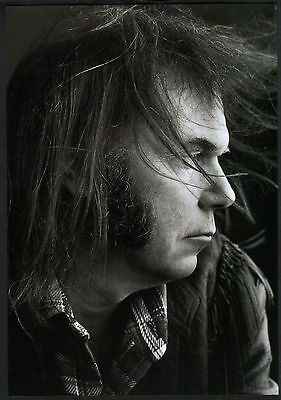 2000 Neil Young closeup JAPAN mag photo pinup / mini poster / clipping ny7r