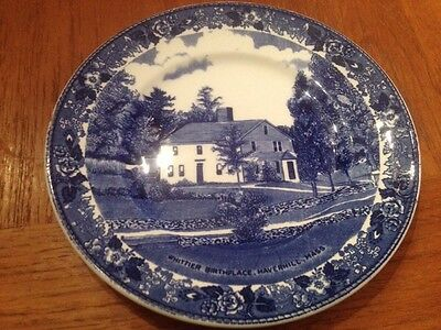 John Greenleaf Whittier Staffordshire Plate