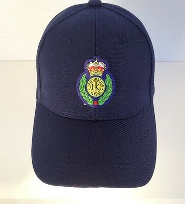 Cap w/Hong Kong Immigration Service Dept small badge(before 1997)velcro OSFA #2