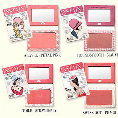 1 Pc The Balm Blush  INSTAIN ANGYLE/LACE/HOUNDSTOOTH/PINSTRIPE/TOILE