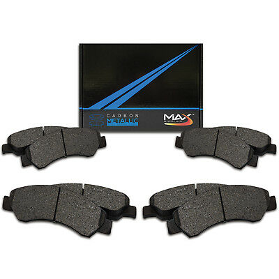 2013 2014 2015 2016 2017 Ram 1500 Max Performance Metallic Brake Pads F+R