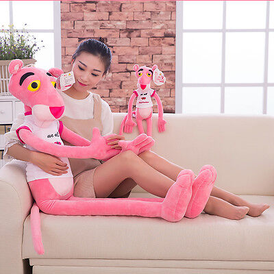 100cm Animation Pink Panther Stuffed Animal Plush Doll Baby Toy Gifts Kid Cotton