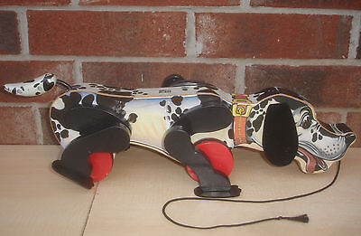 Fisher Price Pull Toy Snoop N Sniff Hound Dog Reproduction of 1938 Model