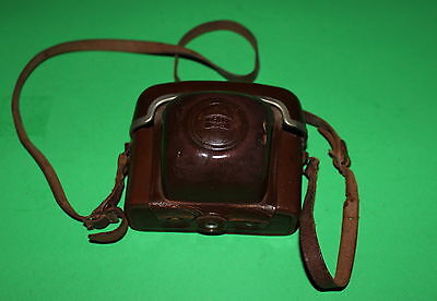 Vintage Zeiss Ikon Camera Case with Neck Strap 207523