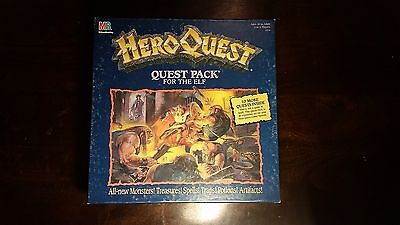 HeroQuest Elf Quest Pack 100% Complete, Good Condition