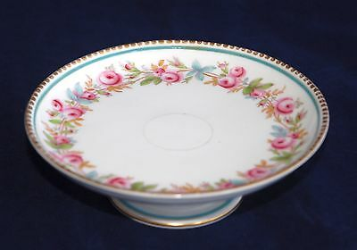 1851-1885 Copeland (Spode) Small Footed Comport - Hand Painted Colour 12.7cm D