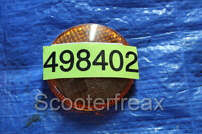 Piaggio Si FL Moped Indicator Glass NEW 498402 NOS Indicator Cover Lens Si Mix