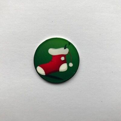 """ Merry Christmas Medias "" Golf Ball Marker"
