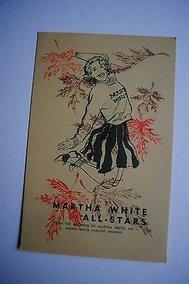 Vintage Martha White All Stars Recipe Brochure Nashville TN